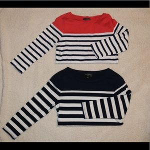 The Limited Striped Tops